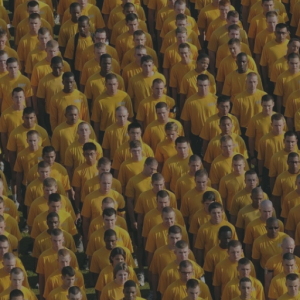 Groupthink - crowd dressed the same