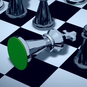 Innate Leaders - king knocked ove rin chess game - strategic mindset